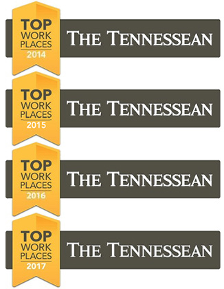 The Tennessean Top Places to Work 2014-2017